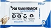 "Sani-Hands, Antimicrobial, Alcohol Gel, Hand Wipes, Bedside Pack, XL, 5.5""x 8.4"", 20/PK, 48PK/CS"