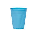 Solo Disposable 5 oz. Plastic Drinking Cups, Blue, 2500/CS