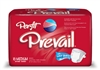 "Briefs, Prevail, Per-Fit, Limited Mat Body Shaped, 32-44"", Medium, Moderate-Heavy Absorbency, White, 16/PK 6PK/CS"