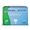 "Brief Per-Fit, Limited Mat Body Shaped, 34-46"", Moderate-Heavy Absorbency, Medium, Green, 20/PK, 4PK/CS"