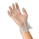 Rensow Vinyl Exam Gloves, Powder-Free, Small, 1000/CS