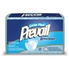 Prevail Pant Liner, 28 L x 13 W, Large Plus, Ultra Absorbency, 16/PK 6PK/CS