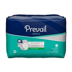 "Briefs Prevail, Adult, 20-31"", Small, Green, 16/PK, 6PK/CS"
