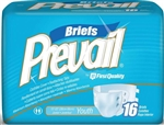 "Briefs, Prevail, Youth, 15-22"", White, 16/BG 6BG/CS"