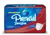 "Briefs, Prevail, Breezers, Limited Mat Body Shaped, 32-44"", Medium, Moderate-Heavy Absorbency, White, 16/PK 6PK/CS"