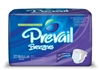 "Prevail Briefs, Breezers, Limited Mat Body Shaped, 40-49"", Regular, Moderate-Heavy Absorbency, Lavender, 20/PK 4PK/CS"