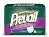 "Prevail Underwear, Limited Mat Body Shaped, 28-46"", Small/Medium, Moderate-Heavy Absorbency, Green, 18/PK 4PK/CS"