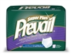 "Briefs, Prevail, Pull-On, 34-46"", Small/Medium, Moderate-Heavy, Super Plus Absorbency, Green, 18/PK 4PK/CS"