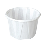 Solo White Paper Souffle/Portion Cup, 1 oz., 250/Box