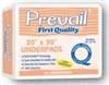 Prevail Underpads, 30 x 30 Inch, Super Absorbency, 10/PK, 10PK/CS