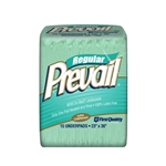 Underpads, Prevail, Fluff, 23x36, 15/BG 8BG/CS
