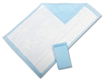"McKesson Disposable Underpads, 23"" x 36"",  Light Absorbency, 150/CS"