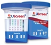 Drugs of Abuse Test, UScreen² 12-Drug Panel with Adulterants, 25/BX