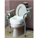 Cardinal Health Toilet Seat Safety Frame w/ Arms