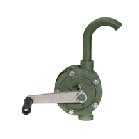 Action Pump 3003 Polypropylene Rotary Drum Pump, PTFE Vane, 8 GPM