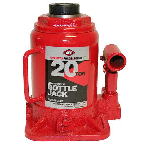 American Forge 3522 Bottle Jack 20 Ton, Short Body