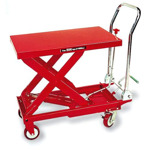 American Forge 3904 1100 Lb Hydraulic Table Cart