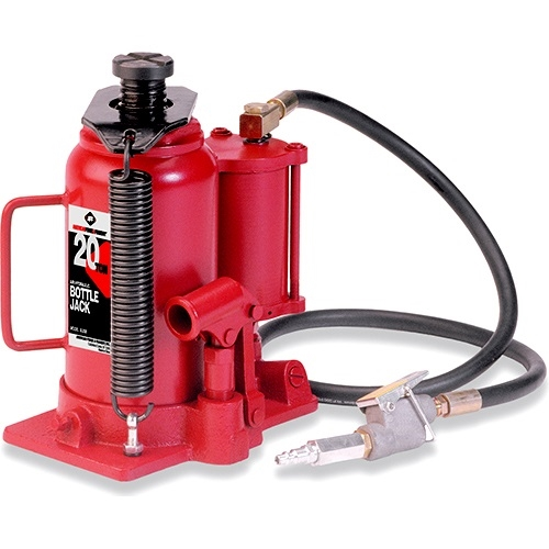 American Forge 5520B 20 Ton Air/Hydraulic Bottle Jack