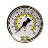 "Amflo 1112-160D 2"" Diameter 0-160 PSI Dial Type Air Line Pressure Gauge"