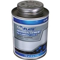 Amflo 12-086 Universal Cement F/ Tire Repair 1/2 Pint