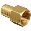 "Amflo 461 Hose Barb Female 1/4"" X 3/8"""