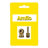 Amflo 50-061 Air Chuck W/Barb Fitting