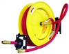 "Amflo 510HR-RET 3/8"" x 25' Retractable Automatic Hose Reel, Rubber"