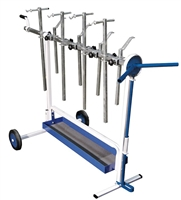 Astro Pneumatic 7300 Super Stand - Universal Rotating Parts Work Stand