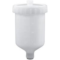 Astro Pneumatic GF14C Plastic Gravity Feed Cup 0.6 Liter Capacity