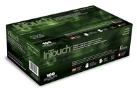 Atlantic Safety K321-L InTouch Rubber Latex Gloves, Large, 100/bx