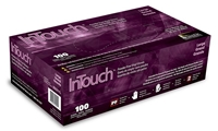 Atlantic Safety N331-L InTouch DEHP Powdered Vinyl Gloves, Large, 100/bx