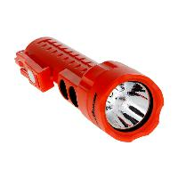 "Bayco Lighting NSP-2422R Dual-Lightâ""¢ LED Flashlight / Floodlight w/Dual Magnets, Red"