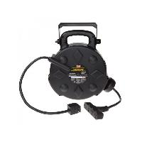 Bayco Lighting SL-8906 50' Retractable Polymer Cord Reel w/All-Weather Cord