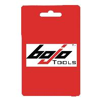 Bojo LTF-3-UNGL Large Flat Forked Pry Tool for Strong Materials