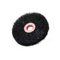 Brush Research CN106A CN 1 .006 1/4 AH Nylon Brush Wheel, 12/pack