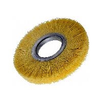 "Brush Research CT312 CT 3-1/2"" 1/2""AH Tampico Wheel, 6/pack"
