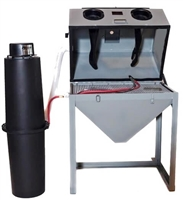 Cyclone FT3624 Abrasive Blasting Cabinet, Full Top