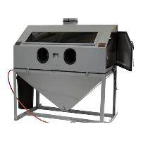 "Cyclone FT6035 60"" Full Top Opening Blast Cabinet w/ DC1500 Dust Collection System"