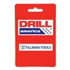 "Drill America BRCT206 3/16"" X 3/8"" HSS 2 Flute Double End, End Mill, Drill America, BRCT206"