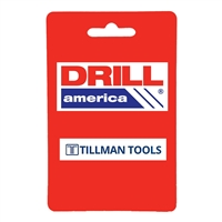 "Drill America CTH3625 3-5/8"" Carbide Tipped Hole Cutter, 1"" Depth of Cut, CTH3625"