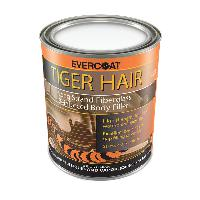 Evercoat 1189 Tiger Hair Long Strand Reinforced Filler, quart