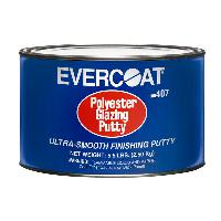 Evercoat 407 Polyester Glazing Putty, 1/2 gallon