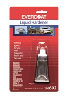 Evercoat 602 Liquid Hardener, 11 cc for Quart