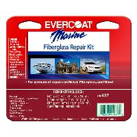 Evercoat 637 Fiberglass Repair Kit, 1/2 pint