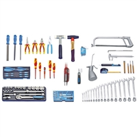 Gedore S 1023  Tool assortment for mechatronics 120 pieces