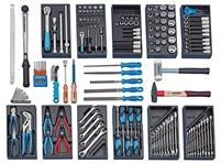 Gedore 2319926 (Series S 1019) Tool Assortment CARS, 157 pcs