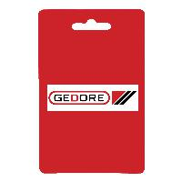 Gedore VDE 8132 AB-160  VDE Bent nose telephone pliers with VDE dipped insulation 160 mm