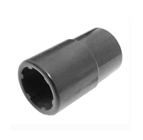 "JM Auto Tools 25062 Isuzu Hino 1/2"" DR Special Socket for Removing/Installing Fuel Line Connector."