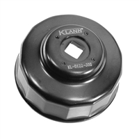 Klann Tools KL-0122-308 Oil Filter Socket, Size (waf) 64mm, 14 Flats
