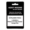 Kent-Moore J-05438-A Piston To Liner Feeler Gauge Set   For General Motors.